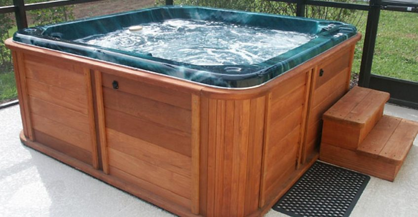 hot tub electical installation